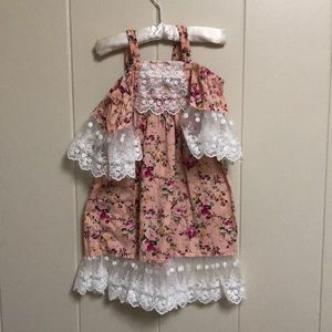 Trish Scully Floral Dress 2T
